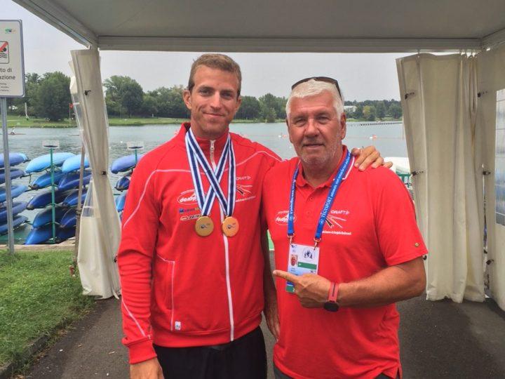 To VM-guld til René: Bedste danske VM-resultat nogensinde