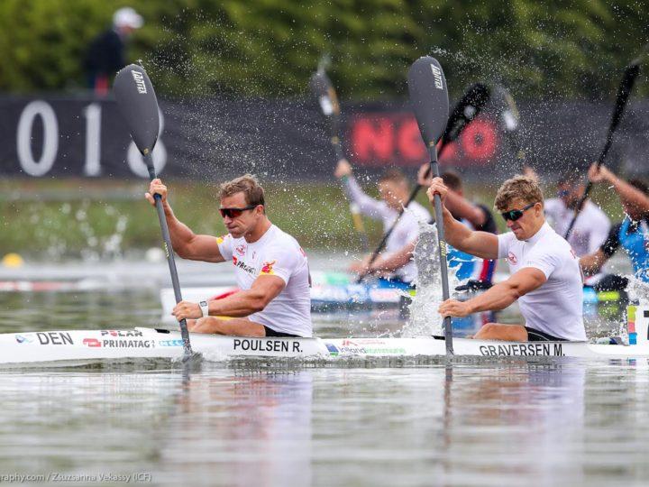 Flot VM 5. plads i K2 til René og Morten Graversen i kun 3. løb sammen