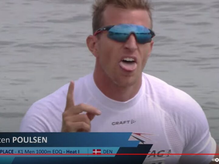 René Holten Poulsen vinder indledende heat og er direkte i finalen om 2 OL-kvalifikationspladser torsdag 11.15
